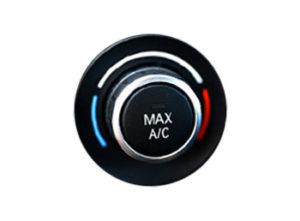 Ikonka przycisku regulującego klimatyzację w samochodzie