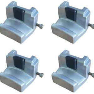 Używane, aby uniknąć uszkodzenia aluminiowych kół ciężarowych (1 komplet = 4 sztuki)