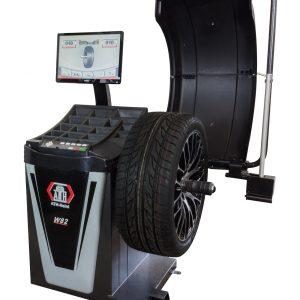 Wyważarka Kół Samochodów Osobowych ATH W82 Touch 3D