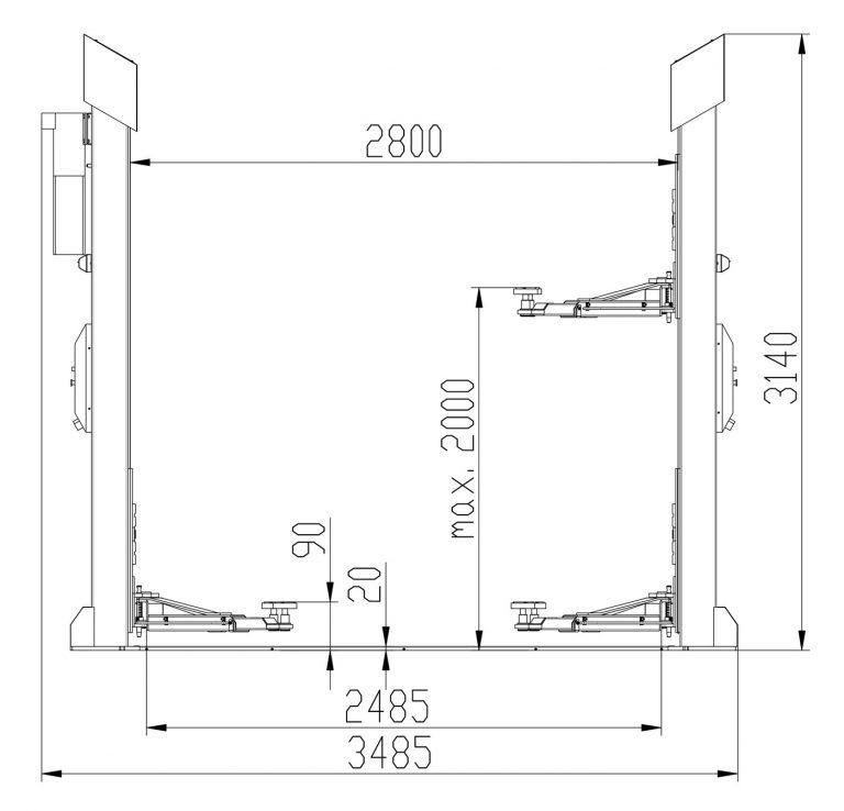 ATH-Comfort Lift 2.35L rysunek